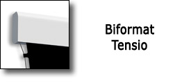 BIFORMAT ELECTRIC MOTORIZED TENSIONATED SCREEN BY ADEO